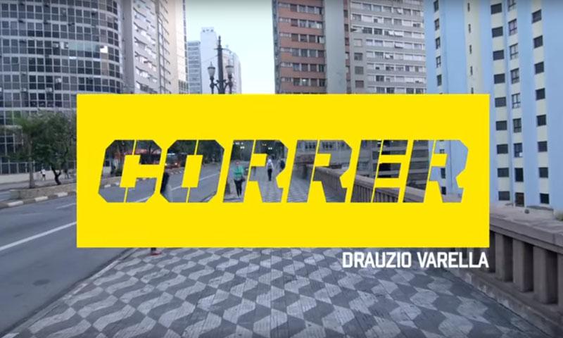Livro de corrida de Drauzio Varella.