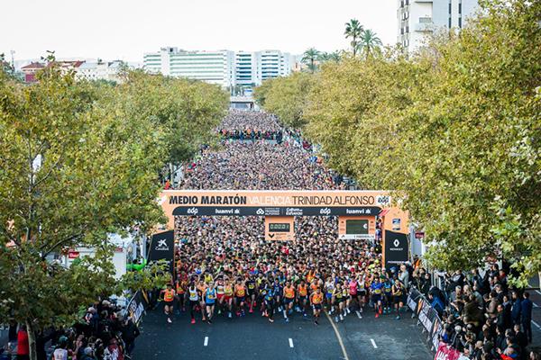 A Meia Maratona de Valência bate recorde de inscritos na edição de 2018