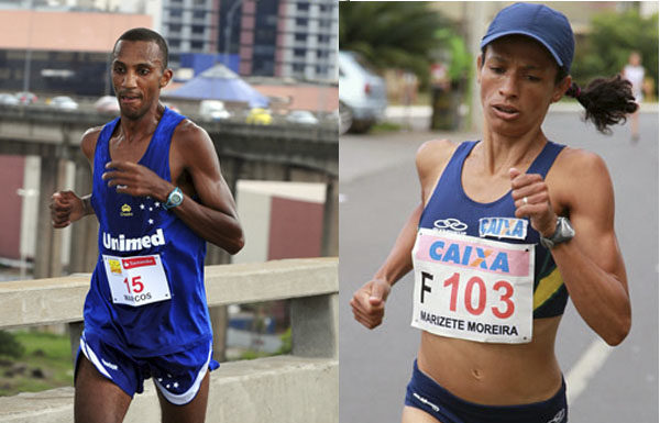 Maratona de SP: Marcos Alexandre Elias e Marizete Moreira são as esperanças do Brasil na prova.