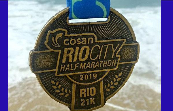 Rio City Half Marathon 2019: medalha dos 21K